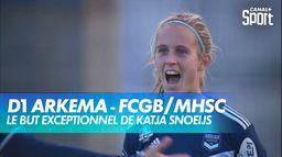 Le but exceptionnel de Katja Snoeijs pour Bordeaux : D1 Arkema