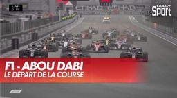 Le départ de la course : Grand prix d'Abou Dabi