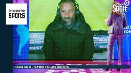 """Habib Beye sur PSG - OL : """"La victoire de Lyon est amplement méritée"""" : Dimanche Soir Sports"""