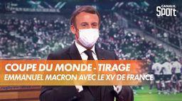 Emmanuel Macron affiche son soutien à France Rugby : Tirage au sort de la Coupe du Monde de Rugby France 2023