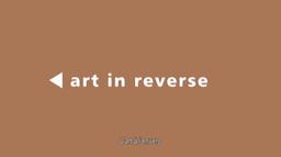 L'art à l'envers