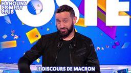 Hanouna Comedy Club : Le sketch de Cyril Hanouna sur le discours d'Emmanuel Macron dans TPMP