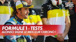 Fernando Alonso de retour avec le meilleur chrono : Grand prix d'Abou Dabi