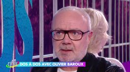 Olivier Baroux dos à dos avec Catherine Ceylac