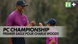 Premier eagle pour Charlie Woods : PNC Championship