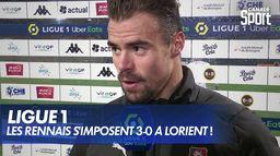Les Rennais s'imposent largement à Lorient ! : Ligue 1 Uber Eats