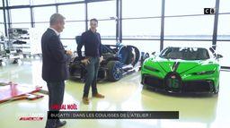 Bugatti : dans les coulisses de l'atelier !