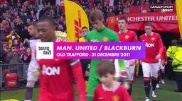 Manchester United Vs Blackburn 2011 : Rétro Premier League