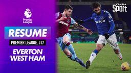 Le but d'Everton / West Ham : Premier League