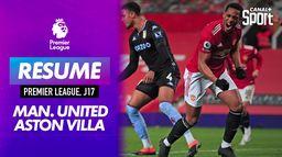 Le résumé de Manchester United / Aston Villa : Premier League