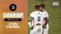 Le résumé de Lyon / Castres : Jour de Rugby