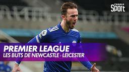 Les buts de Newcastle - Leicester : Premier League