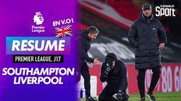 Le résumé de Southampton - Liverpool en VO : Premier League