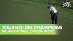 Thomas en forme, Dustin Johnson déçoit : PGA Tour - Tournoi des Champions