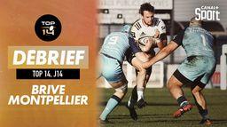 Le résumé du match Brive / Montpellier : Top 14 - 14ème journée