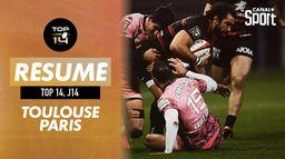 Le résumé de Stade Toulousain - Stade Français : Top 14
