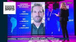 """Interview de Guillaume Gille : """"être compétitif dès jeudi"""" : Dimanche Soir Sports"""