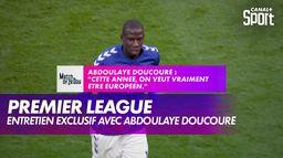 Abdoulaye Doucouré (Everton) se confie au micro de CANAL+ : Premier League