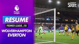 Le résumé de Wolverhampton / Everton : Premier League