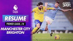 Le résumé du match Manchester City / Brighton : Premier League