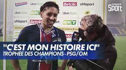 300ème match au PSG et Trophée des Champions pour Marquinhos : Ligue 1 Uber Eats