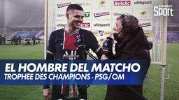 Mauro Icardi, L'homme du match de PSG / OM : Trophée des Champions