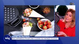 Vie pratique : Des appareils pour une cuisine du monde festive !