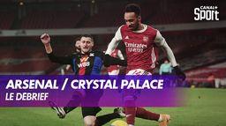 Le débrief de Arsenal / Crystal Palace : Premier League