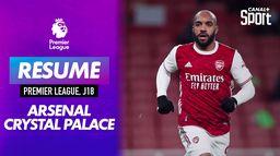 Le résumé d'Arsenal / Crystal Palace : Premier League