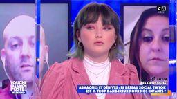 """Satine raconte sa mauvaise expérience sur Tik Tok : """"Des pédophiles sont venus me parler"""""""