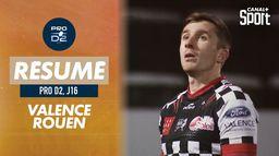 Le résumé de Valence Romans / Rouen : Pro D2