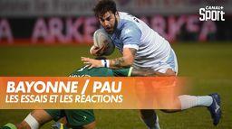Les essais et les réactions après Bayonne / Pau : TOP 14