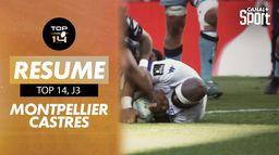 Les Castrais sont allés crucifier le MHR en fin de match : TOP 14 Montpellier - Castres