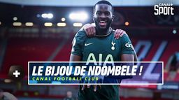 Le but exceptionnel de Tanguy Ndombele face à Sheffield ! : Canal Football Club