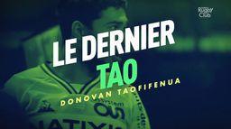 Donovan Taofifénua, le dernier Tao : Canal Rugby Club