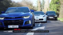 Corvette, Camaro, Charger : les sportives made in USA !