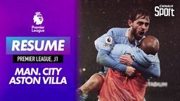 Le résumé de Manchester City / Aston Villa : Premier League