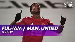 Les buts de Fulham / Manchester United : Premier League