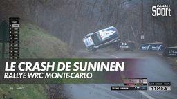 L'incroyable crash de Suninen à Monte-Carlo : Rallye WRC Monte-Carlo