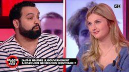 Yassine Belattar face à la porte-parole de Génération Identitaire