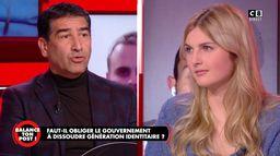 """Karim Zéribi à la porte-parole de Génération Identitaire : """"Vous n'êtes pas plus française que moi"""""""