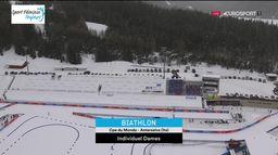 Biathlon - Individuel 15 km dames