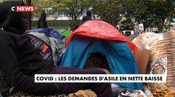 Covid : les demandes d'asile en nette baisse