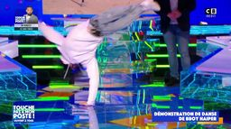 "La démonstration de danse de Bboy Haiper, finaliste de ""La France a un incroyable talent"""