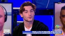 Le fils de Benjamin Castaldi, Simon, explique pourquoi il a décidé de se lancer dans la télé-réalité