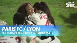 Les buts de Paris FC / Lyon : D1 Arkema