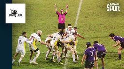 L'innovation tactique originale des joueurs de Soyaux : Late Rugby Club