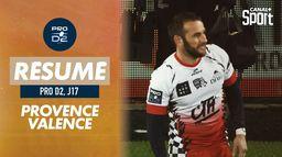 Le résumé de Provence Rugby / Valence Romans : Pro D2