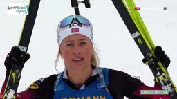 Biathlon - Mass Start 12,5 km dames
