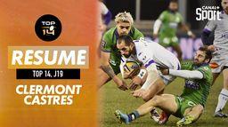 Le résumé de Clermont / Castres : TOP 14